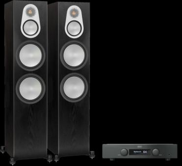 Pachet PROMO Monitor Audio SIlver 500 + Hegel H95