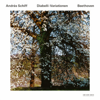 CD ECM Records Andras Schiff: Beethoven - Diabelli-Variationen