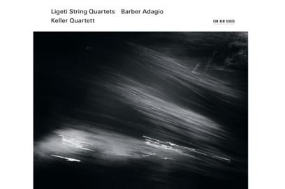 CD ECM Records Keller Quartett - Ligeti String Quartets/Barber Adagio