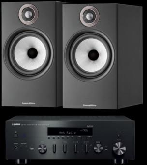 Pachet PROMO Bowers & Wilkins 606 S2 Anniversary Edition + Yamaha R-N602