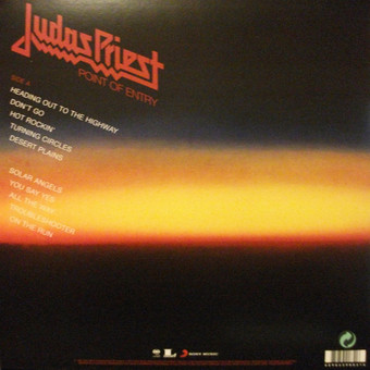 VINIL Universal Records Judas Priest - Point Of Entry