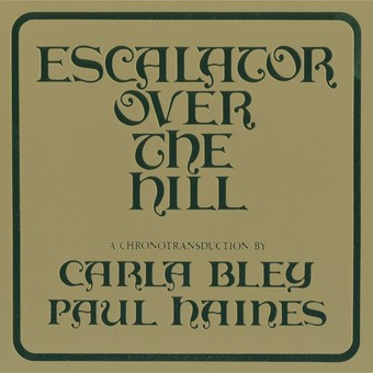 VINIL ECM Records Carla Bley: Escalator Over The Hill