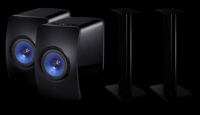 KEF LS50 Wireless + KEF Performance Stand