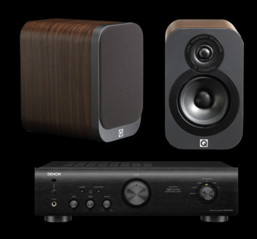 Q Acoustics 3010 + Denon PMA-520AE
