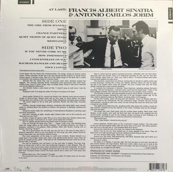 VINIL Universal Records Frank Sinatra - Francis Albert Sinatra & Antonio Carlos Jobim