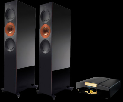Pachet PROMO KEF Reference 3 + MBL C51