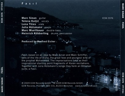 CD ECM Records Marc Sinan: Fasil