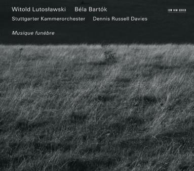 CD ECM Records Witold Lutoslawski / Bela Bartok: Musique funebre