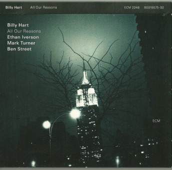 CD ECM Records Billy Hart/Ethan Iverson Quartet: All Our Reasons