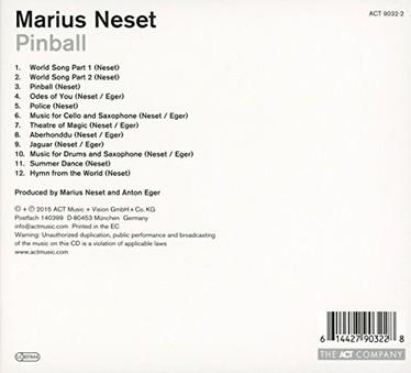 VINIL ACT Marius Neset: Pinball