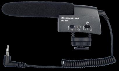 Microfon Sennheiser MKE 400 Shotgun
