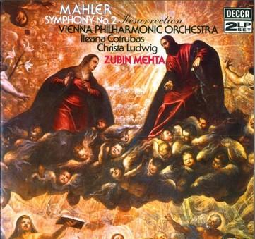 VINIL ProJect Zubin Mehta, Wiener Philharmoniker - Mahler: Symphony No 2