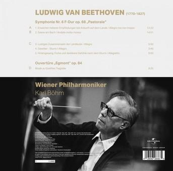 VINIL ProJect Karl Bohm, Wiener Philharmoniker: Beethoven - Symphony No 6, Pastorale