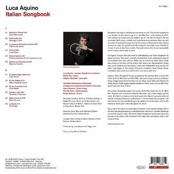 VINIL ACT Luca Aquino - Italian Songbook