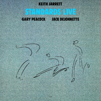 CD ECM Records Keith Jarrett Trio: Standards Live