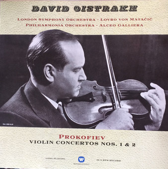 VINIL Universal Records Prokofiev - Violin Concertos - Oistrakh