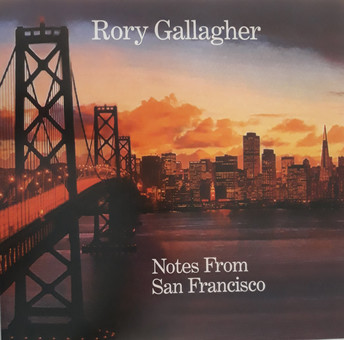 VINIL Universal Records Rory Gallagher - Notes From San Francisco