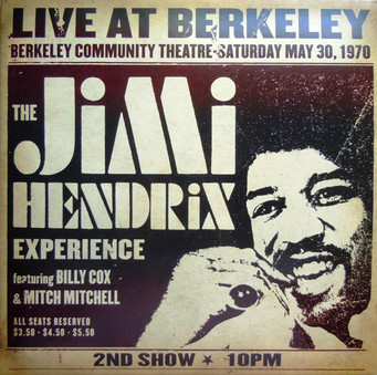 VINIL Universal Records The Jimi Hendrix Experience - Live At Berkeley