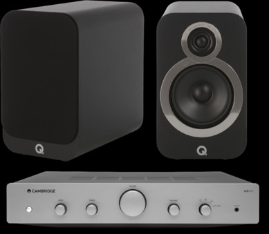 Pachet PROMO Q Acoustics 3020i + Cambridge Audio AXA25
