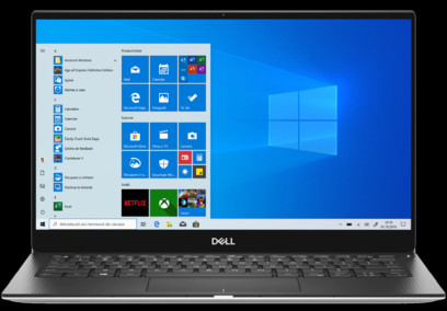 Laptop Dell XPS 13 2-in-1 (7390), Intel Core i5-1035G1 3.6 GHz, 13.4 inch, FHD+ Touch, 8GB RAM, 256GB SSD