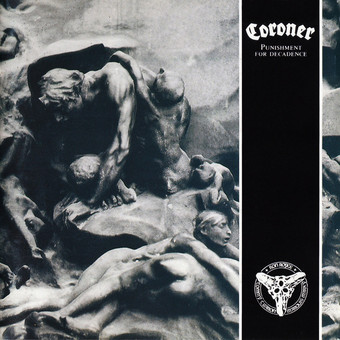 VINIL Universal Records Coroner - Punishment For Decadence