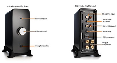 Amplificator Audioengine N22 DESKTOP AMPLIFIER