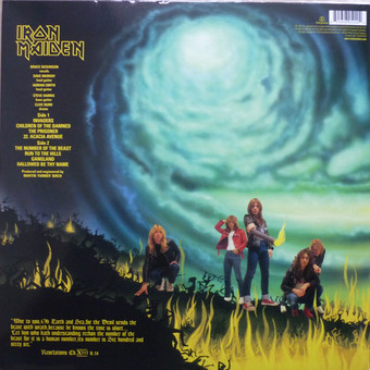 VINIL Universal Records Iron Maiden - The Number Of The Beast