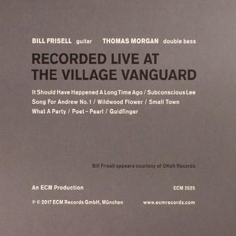 CD ECM Records Bill Frisell / Thomas Moran: Small Town