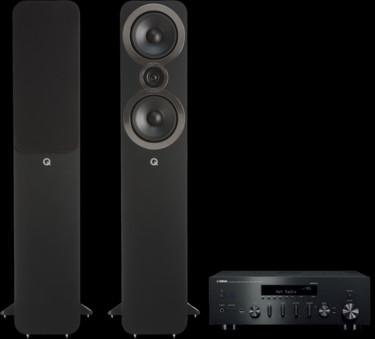 Pachet PROMO Q Acoustics 3050i + Yamaha R-N602