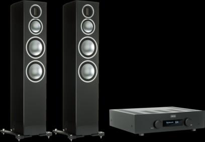 Pachet PROMO Monitor Audio Gold 300 + Hegel H190