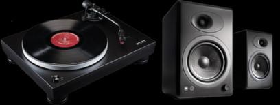 Pickup Audio-Technica AT-LP5 + Audioengine A5+