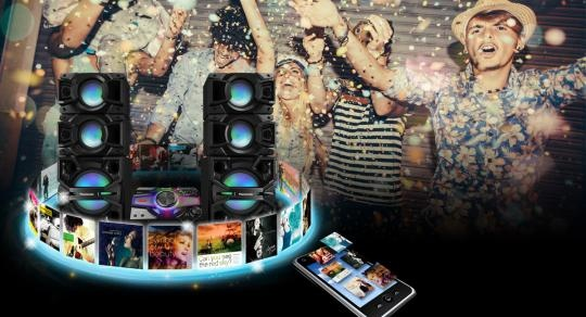 Техномаркет - онлайн магазин | PANASONIC SA/SB-MAX7000EK HI FI SYSTEM