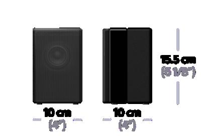 Imagine cu Boxă spate wireless pentru bara de sunet HT-ZF9