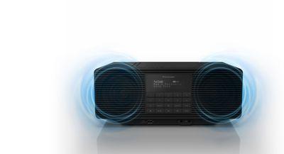 PANASONIC RX-D70BTEG-K Radio in Schwarz kaufen | SATURN
