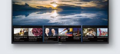 Imagine cu XD75 / XD70 Ultra HD 4K cu Android TV