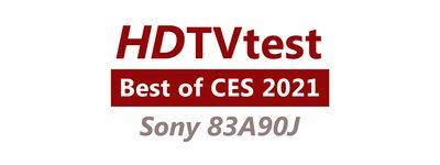 Sigla HDTVtest Cele mai bune produse de la CES 2021 pentru BRAVIA 83A90J