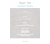 Muzica CD CD ECM Records Arvo Part: Tabula RasaCD ECM Records Arvo Part: Tabula Rasa