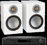 Pachete PROMO STEREO Monitor Audio Silver 50 + NAD C 338Monitor Audio Silver 50 + NAD C 338