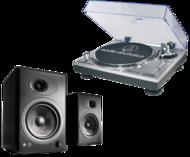 Pick-up Pickup Audio-Technica Pickup Audio-Technica AT-LP120USBC HS10 upgrade + Boxe active Audioengine A5+Pickup Audio-Technica Pickup Audio-Technica AT-LP120USBC HS10 upgrade + Boxe active Audioengine A5+