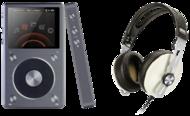 Pachete PROMO Casti si AMP Sennheiser Momentum M2 + Fiio X5 IISennheiser Momentum M2 + Fiio X5 II