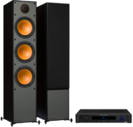 Pachete PROMO STEREO Monitor Audio Monitor 300 + Emotiva BasX TA-100Monitor Audio Monitor 300 + Emotiva BasX TA-100