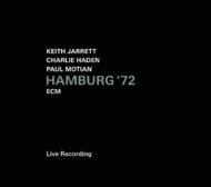 Muzica CD CD ECM Records Keith Jarrett, Charlie Haden, Paul Motian: Hamburg '72CD ECM Records Keith Jarrett, Charlie Haden, Paul Motian: Hamburg '72