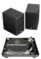 Pachete PROMO STEREO Q Acoustics BT3 + Audio-Technica AT-LP120USB HS10 Q Acoustics BT3 + Audio-Technica AT-LP120USB HS10