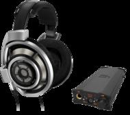 Pachete PROMO Casti si AMP Sennheiser HD 800 + iFi Micro iDSD BlackSennheiser HD 800 + iFi Micro iDSD Black