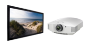 Videoproiectoare Videoproiector Sony VPL-HW65ES + HomeScreen DELUXE 16:9, panza HD Progressive 151x256cmVideoproiector Sony VPL-HW65ES + HomeScreen DELUXE 16:9, panza HD Progressive 151x256cm
