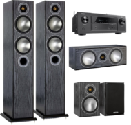 Pachete PROMO SURROUND Pachet PROMO Monitor Audio Bronze 5 pachet 5.0 + Denon AVR-X2400HPachet PROMO Monitor Audio Bronze 5 pachet 5.0 + Denon AVR-X2400H