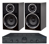 Pachete PROMO STEREO Wharfedale Diamond 210 + Cambridge Audio Topaz AM5Wharfedale Diamond 210 + Cambridge Audio Topaz AM5