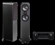 Pachete PROMO STEREO Q Acoustics 3050 + Denon AVR-X2300WQ Acoustics 3050 + Denon AVR-X2300W