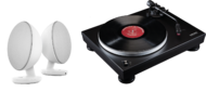 Pachete PROMO STEREO Pachet PROMO Audio-Technica AT-LP5 + KEF EggPachet PROMO Audio-Technica AT-LP5 + KEF Egg