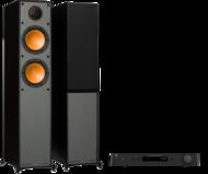 Pachete PROMO STEREO Monitor Audio Monitor 200 + NAD C 328Monitor Audio Monitor 200 + NAD C 328